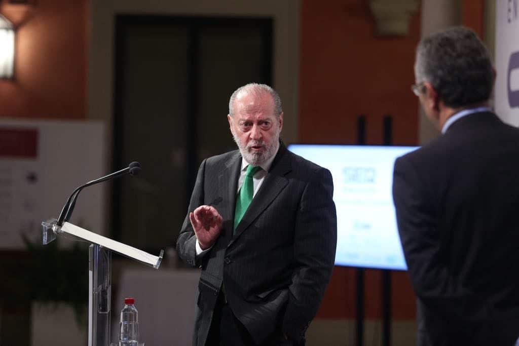 Fernando Rodríguez Villalobos, en el Encuentro sobre economía circular de la Cadena SER