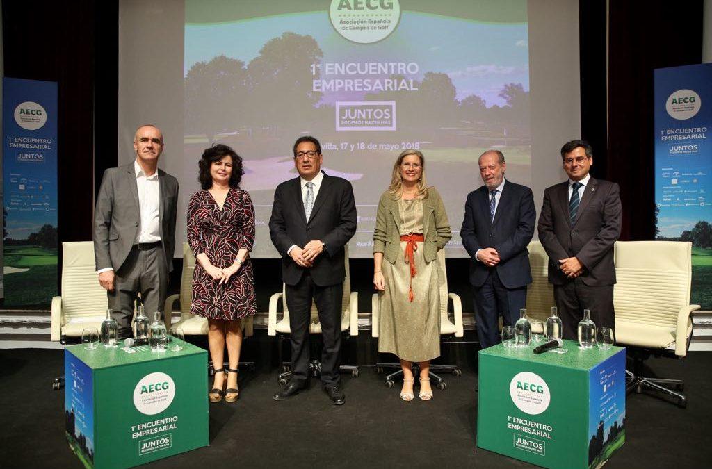 I Encuentro Empresarial de la Asociación Española de Campos de Golf en la Fundación Cajasol