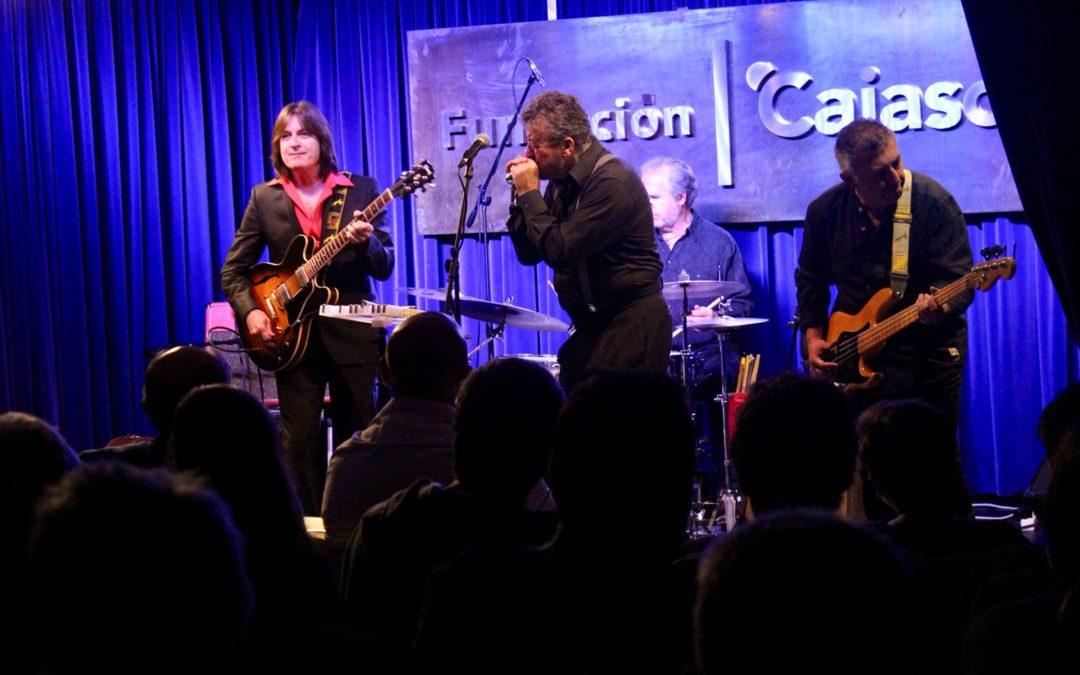 Mingo Balaguer lidera a The Blues Intruders en 'Los Jueves en la Cuarta' de la Fundación Cajasol en Huelva