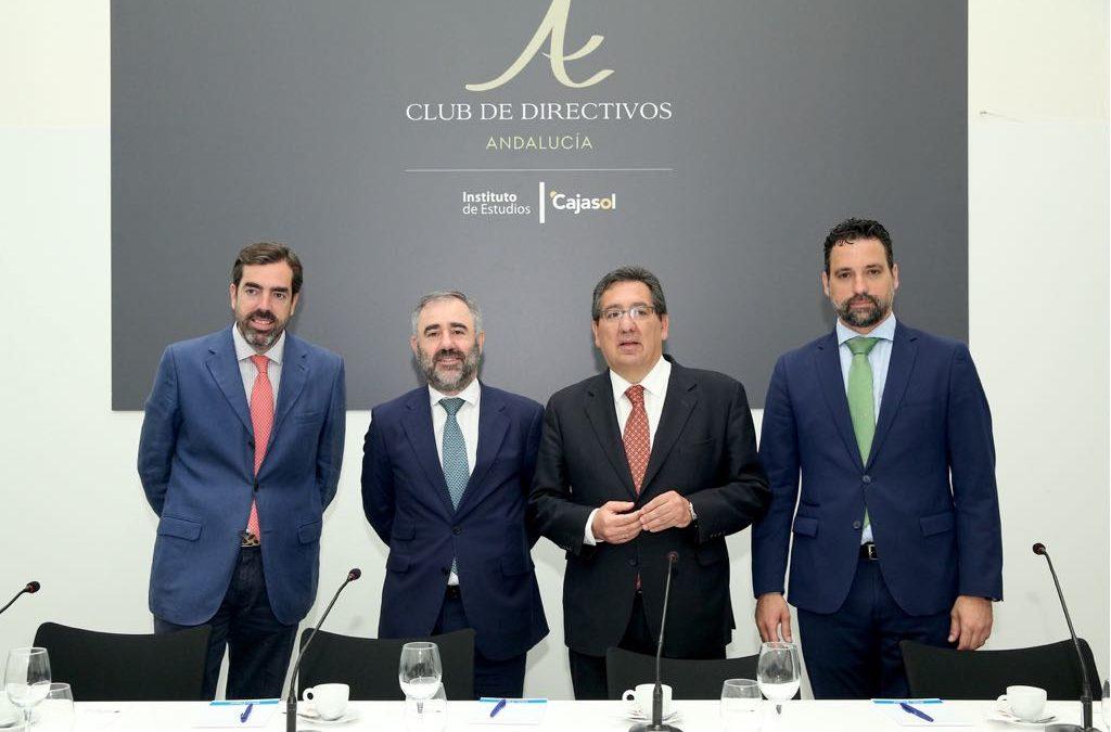 Desayuno-Coloquio del Club Directivos Andalucía con Javier Imaz, CEO GRI Renewable Industrie