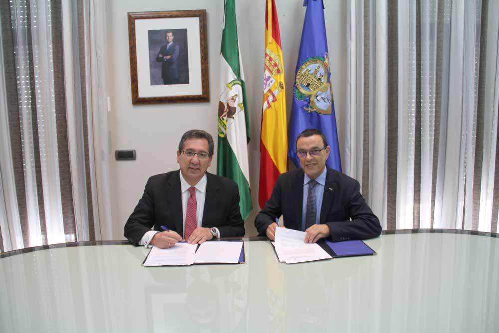 Diputación de Huelva y Fundación Cajasol renuevan su colaboración para promover actuaciones socioculturales en la provincia