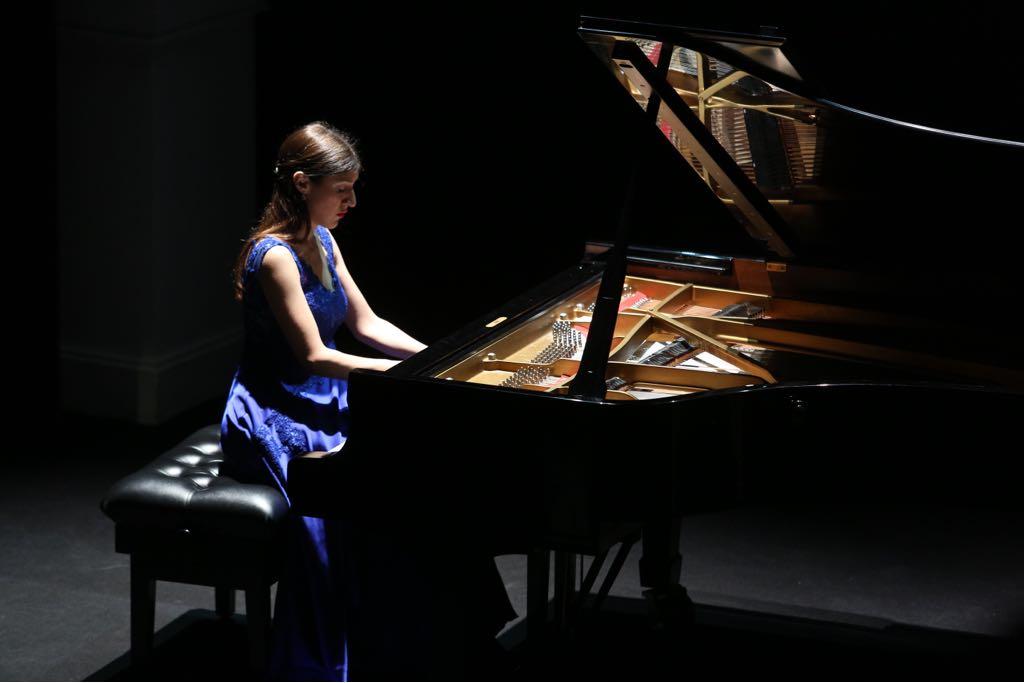 Concierto de piano de Chiara D'Odorico en la Fundación Cajasol