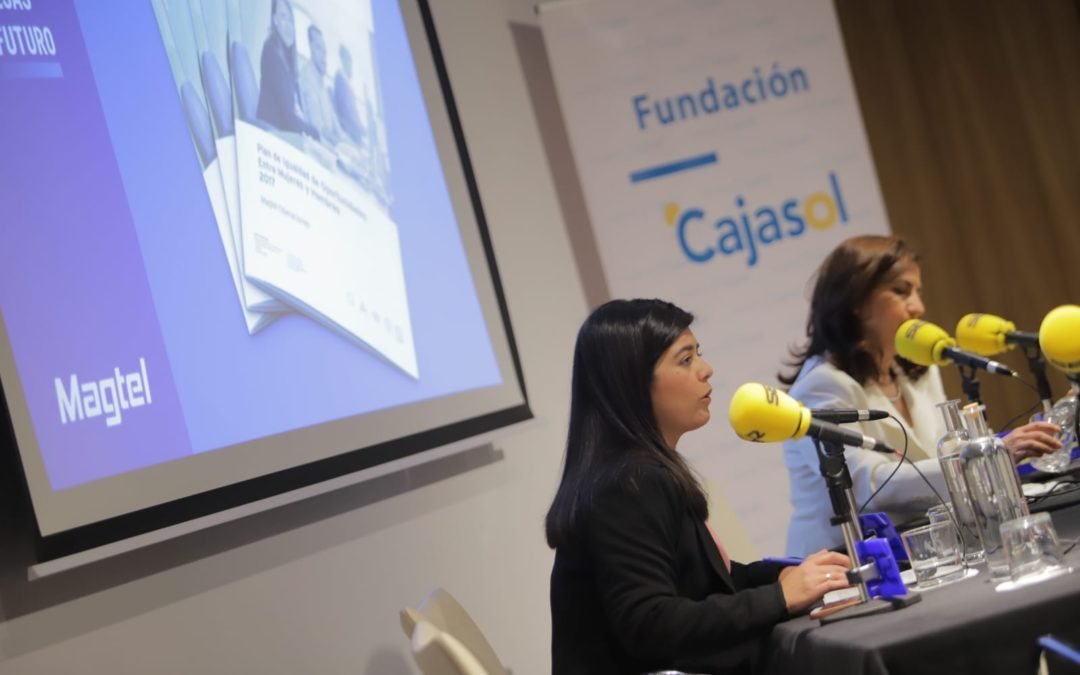 Encuentros SER Radio Córdoba sobre 'Empresas igualitarias, empresas con futuro' en la Fundación Cajasol
