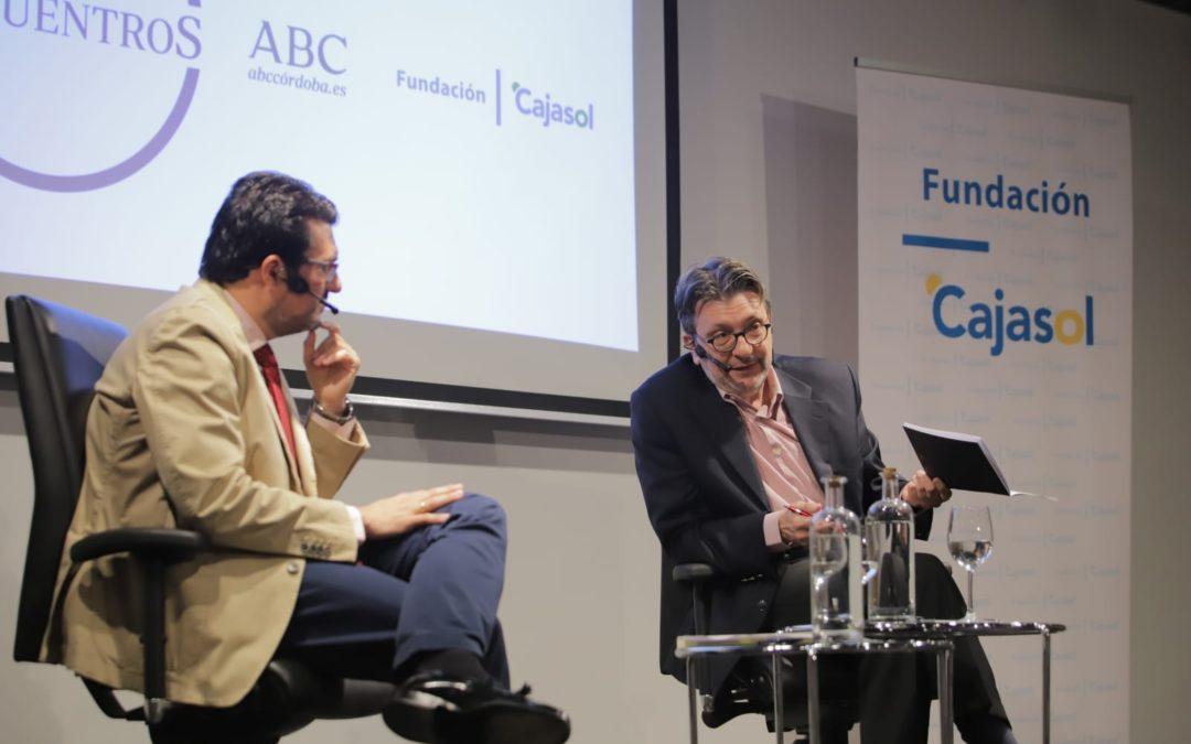 Ignacio Camacho, en los Encuentros de ABC Córdoba y Fundación Cajasol