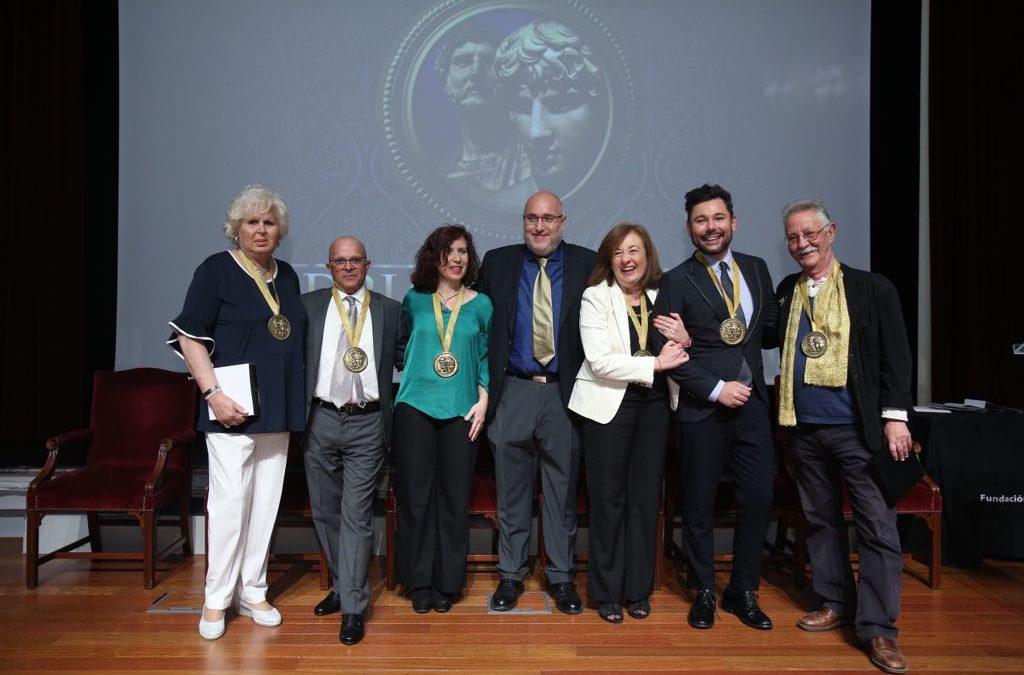 Entrega de los VII Premios por la Igualdad Adriano Antinoo en la Fundación Cajasol