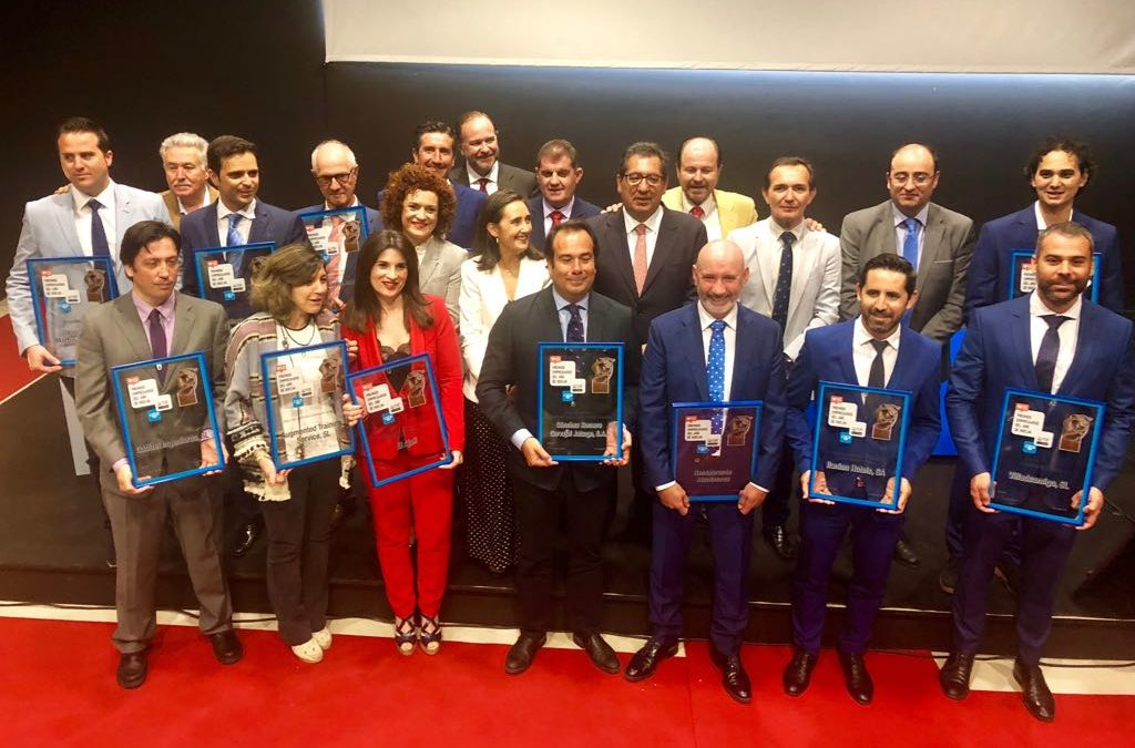 Entrega de los XIII Premios Empresarios del Año de Huelva