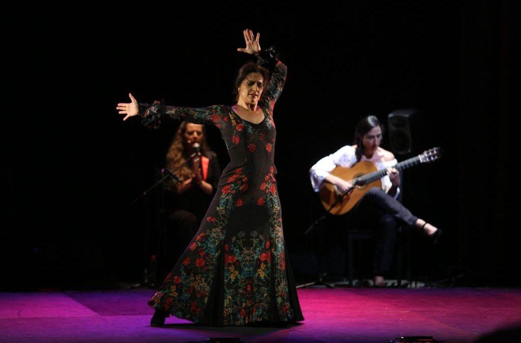 Los Jueves Flamencos de la Fundación Cajasol clausuran el mes de mayo con el baile de Ángeles Gabaldón