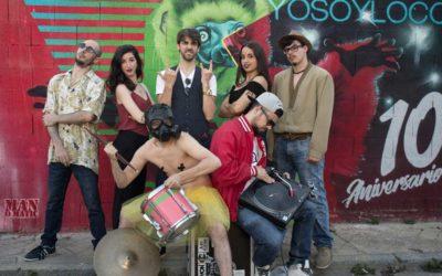 El ciclo de danza 'Continental' de la Fundación Cajasol arranca a ritmo de Funk con 'Yo Soy Loco & Cas-Adrums'