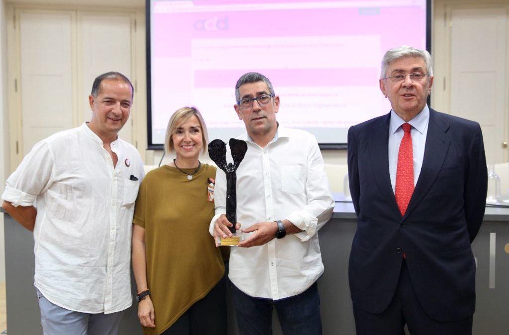 La Asociación por el Derecho a Morir Dignamente, Premio Plácido Fernández Viagas 2018