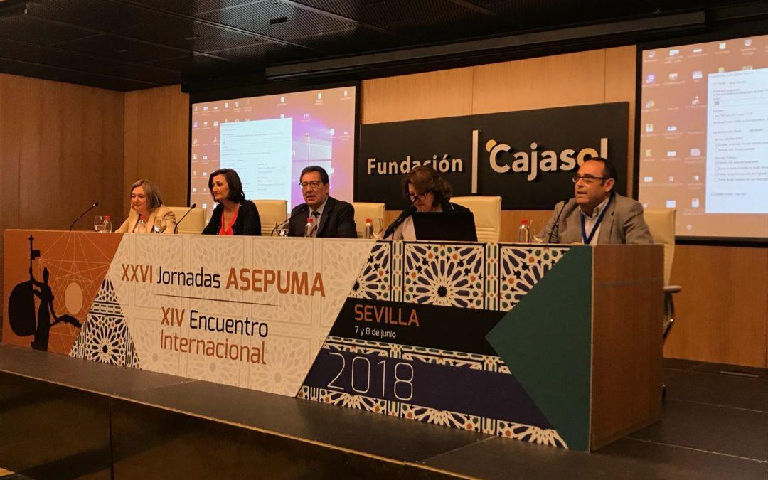 """Antonio Pulido, en las XXVI Jornadas de ASEPUMA: """"La investigación y la divulgación científica despierta interés entre el gran público"""""""