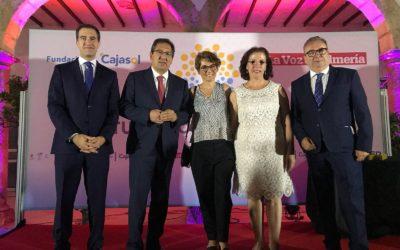 Entrega de los I Premios del Turismo Almeriense de La Voz y la Fundación Cajasol