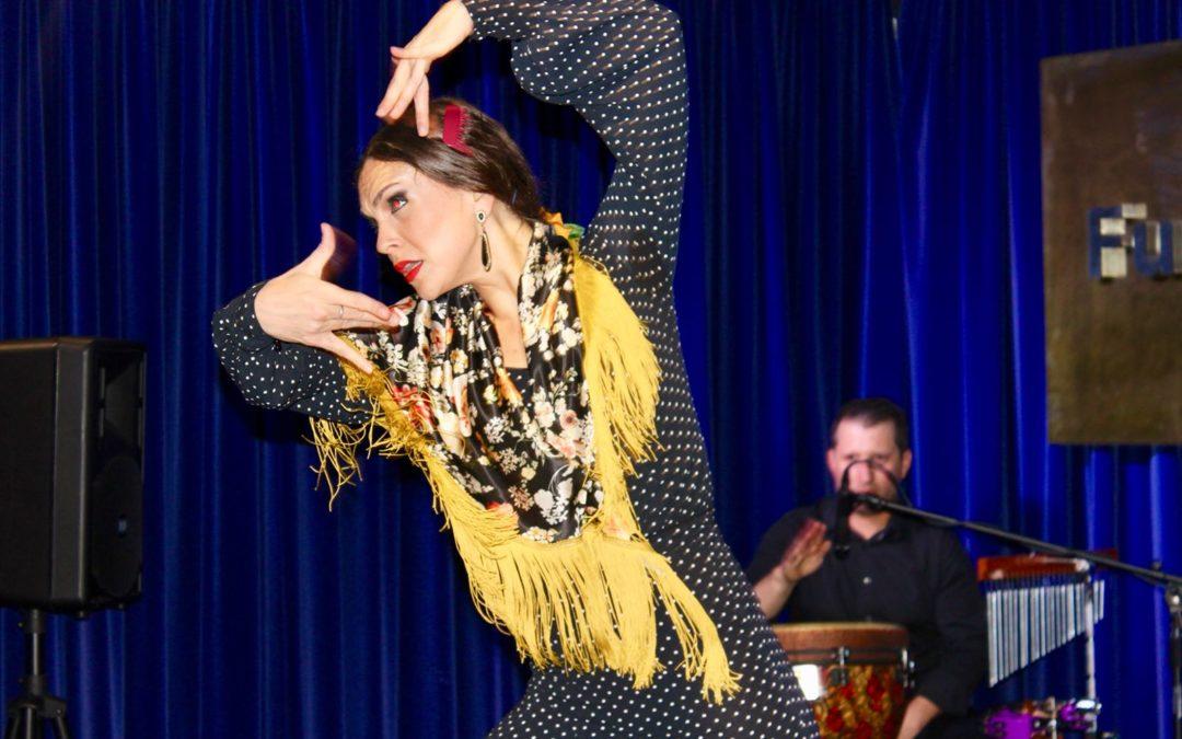 El flamenco de Cristina Ceballos, protagonista en el ciclo de danza 'Continental' de la Fundación Cajasol en Huelva