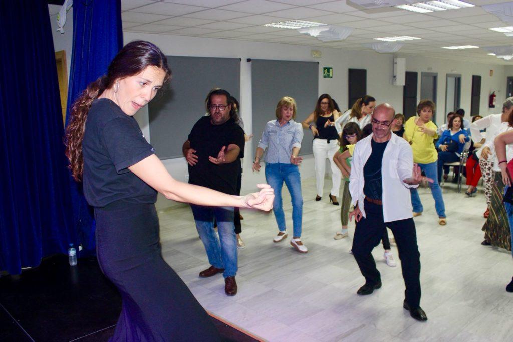 Masterclass de Cristina Ceballos en el ciclo Continental de la Fundación Cajasol en Huelva