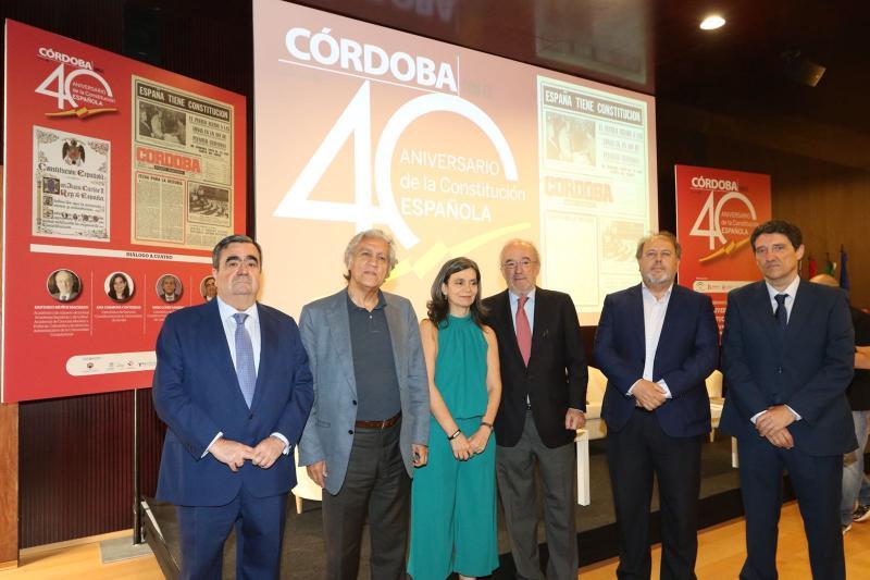 Expertos debaten sobre la Constitución Española de 1978 y su posible reforma en Córdoba