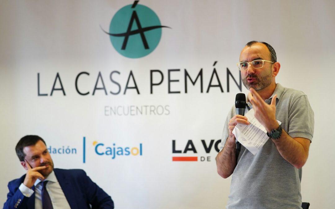 Rafael Santandreu, protagonista esta semana en la Fundación Cajasol