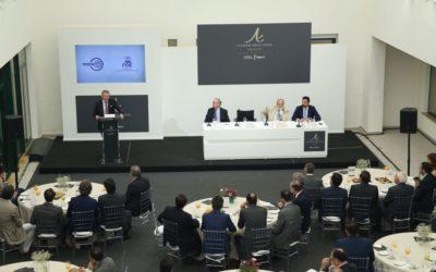 Desayuno-Coloquio del Club Directivos Andalucía con Francisco Pérez Botello, Presidente de Volkswagen Group España Distribución