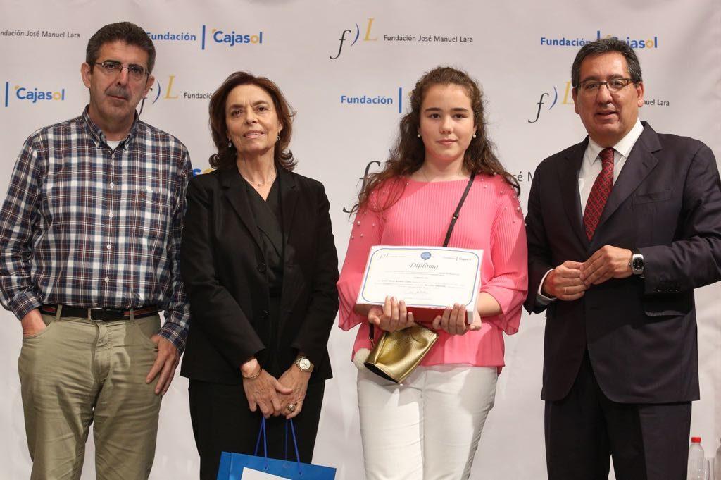 Isabel María Rodríguez, ganadora del V concurso 'Mi libro preferido' en la provincia de Cádiz