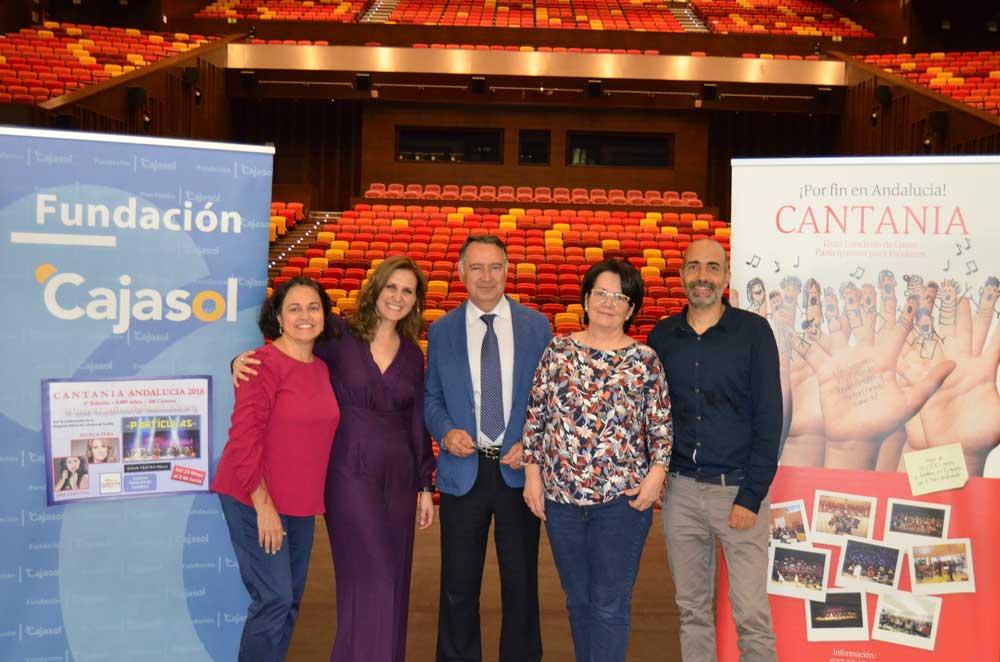 Cantania Andalucía: el proyecto musical que está conquistando las aulas andaluzas