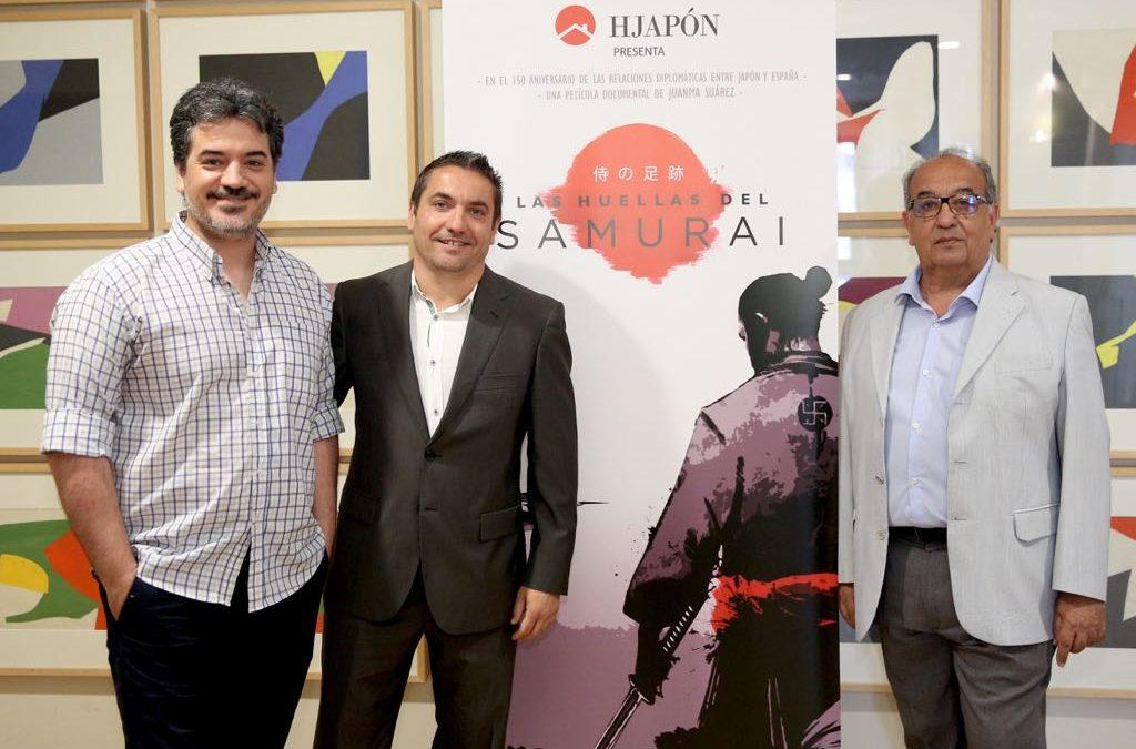 Presentación de la película documental 'Las Huellas del Samurai'