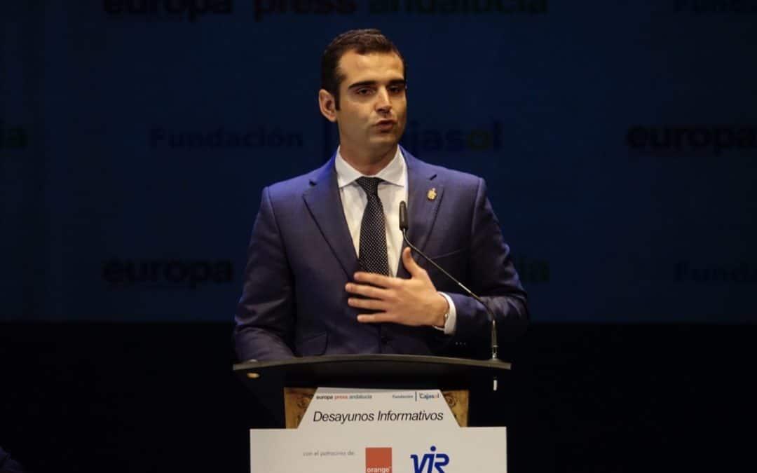 Ramón Fernández-Pacheco, en los Desayunos Informativos de Europa Press en Almería