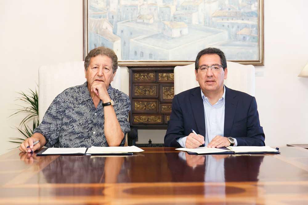 La Fundación Cajasol renueva su acuerdo de colaboración con el Instituto de Estudios de Cooperación del Mediterráneo & Atlántico