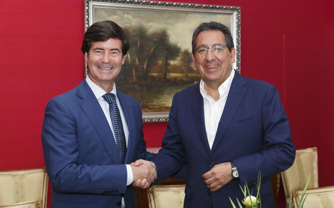 La Fundación Cajasol y CES renuevan su acuerdo de colaboración con acciones de promoción del empresariado sevillano