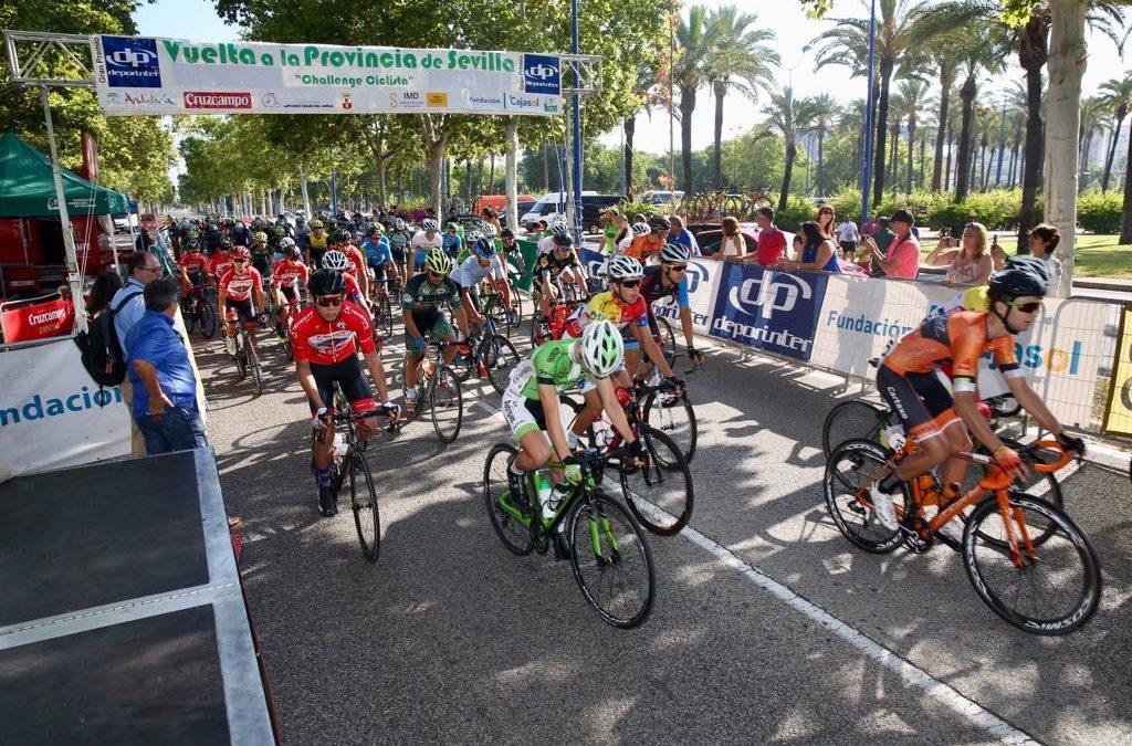 José Antonio García conquista el maillot azul de Fundación Cajasol en la XIII Challenge Vuelta a la Provincia de Sevilla