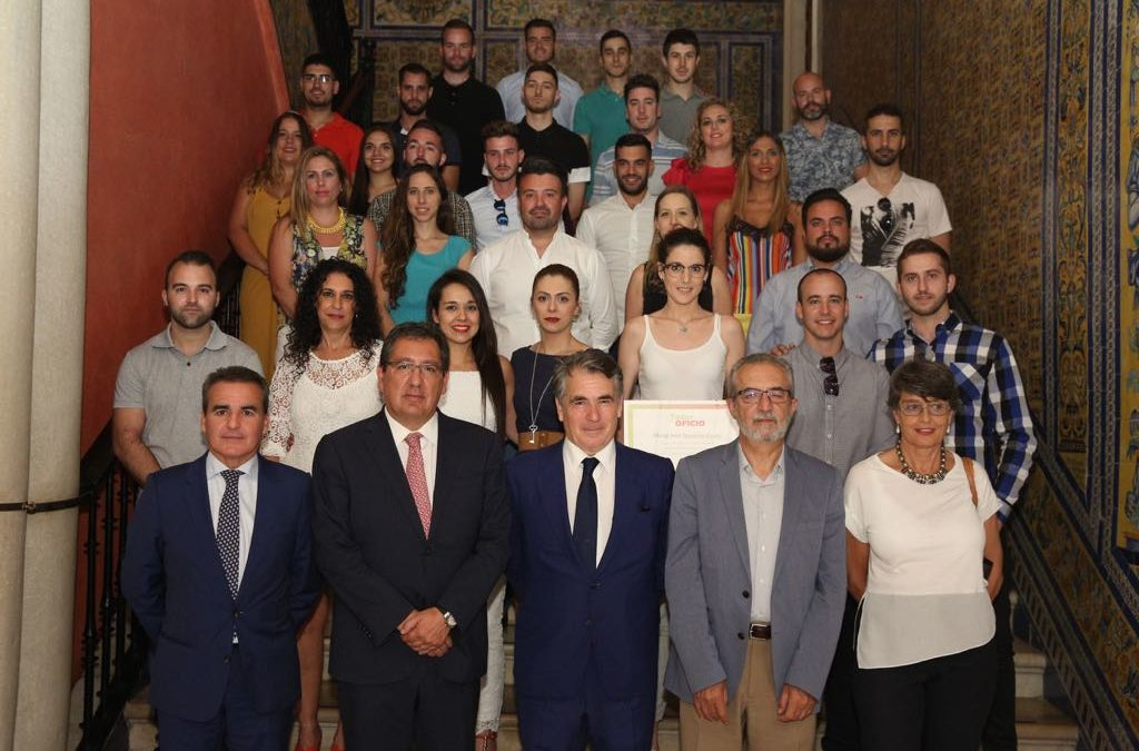 Clausura del 6º Programa Taller de Oficio de la Fundación MAS en la Fundación Cajasol