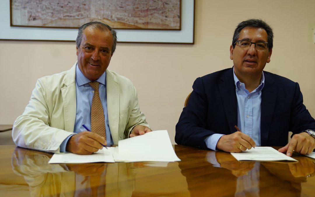 La Fundación Cajasol mantiene su compromiso con la Sociedad de Carreras de Caballos de Sanlúcar