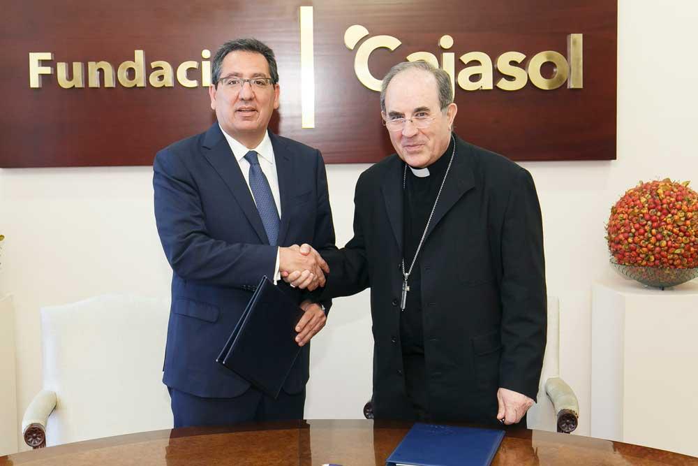 La Fundación Cajasol renueva su compromiso con la Real Fundación Patronato de la Vivienda de Sevilla