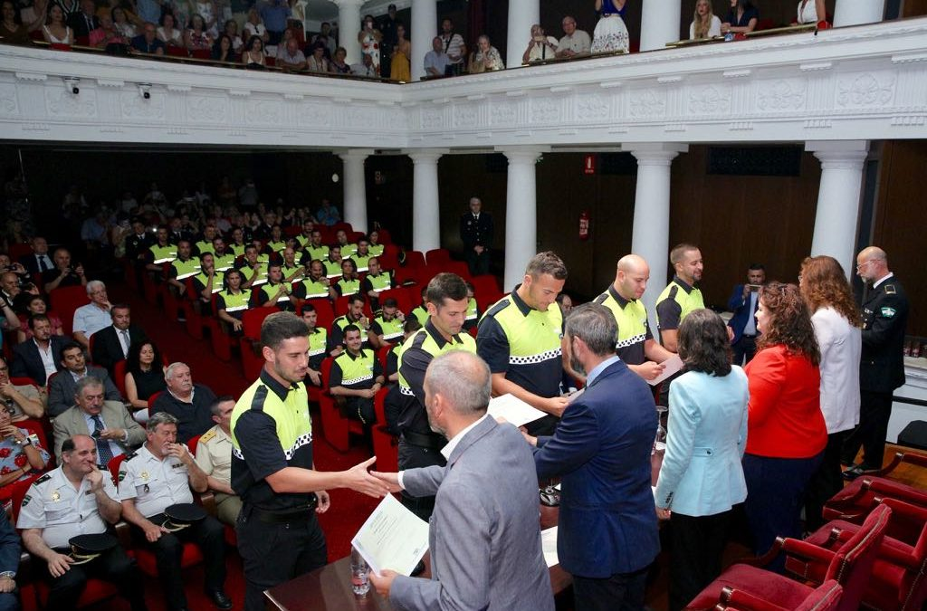 XLIII acto de clausura del curso de ingreso a los Cuerpos de Policía Local de Andalucía
