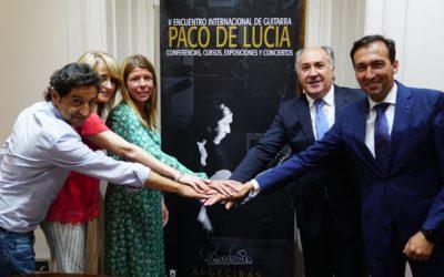 V Encuentro Internacional de Guitarra 'Paco de Lucía', del 17 al 22 de julio en Algeciras