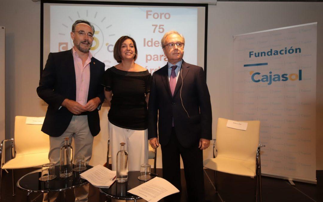 Foro '75 ideas para Córdoba': Las administraciones, unidas para el desarrollo logístico de la ciudad