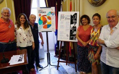 Ana Crismán, David Palomar, Paco Montalvo, El Pele y Manuel Liñán, en el II Estival Flamenco Cádiz