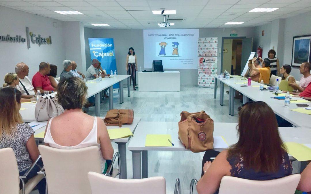 FEAFES Huelva acerca al público la realidad de la Patología Dual