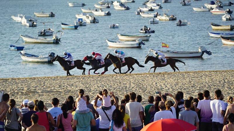 Carreras de Caballos de Sanlúcar, evento de Interés Turístico Internacional