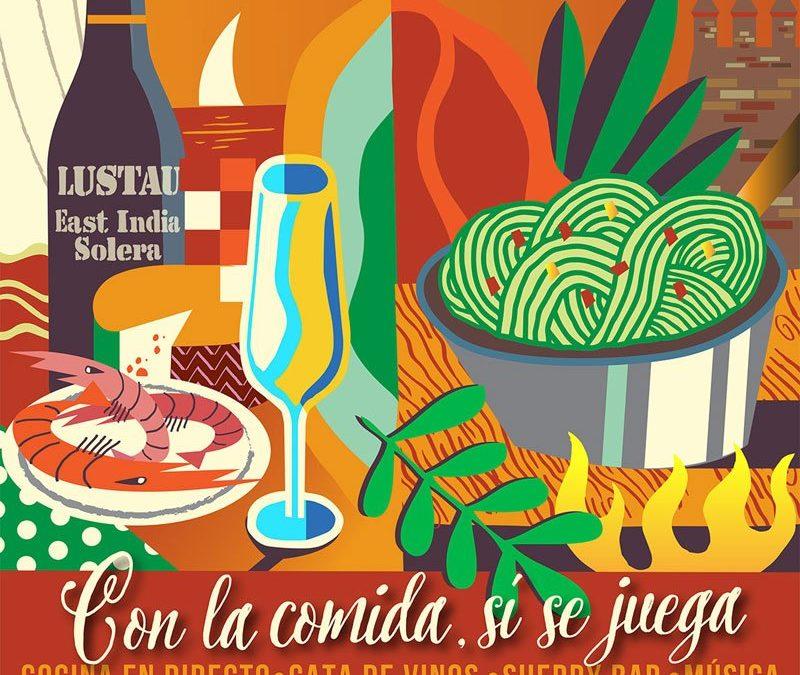 Gastronomía y solidaridad en el Ciclo Cultural Caballero de 'Andaluces Compartiendo'