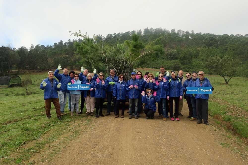 La Fundación Cajasol ayuda a combatir el cambio climático