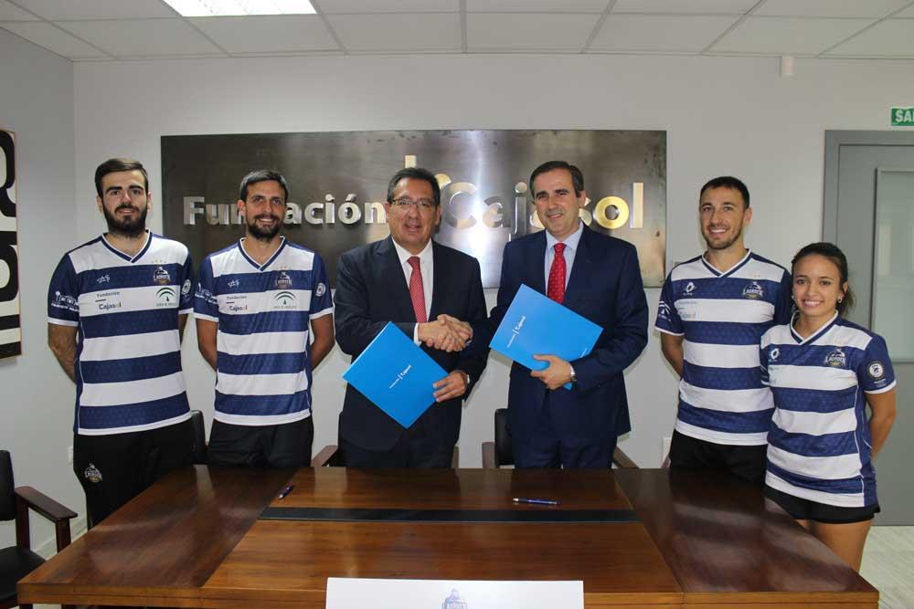 La Fundación Cajasol renueva su compromiso con el CB IES La Orden