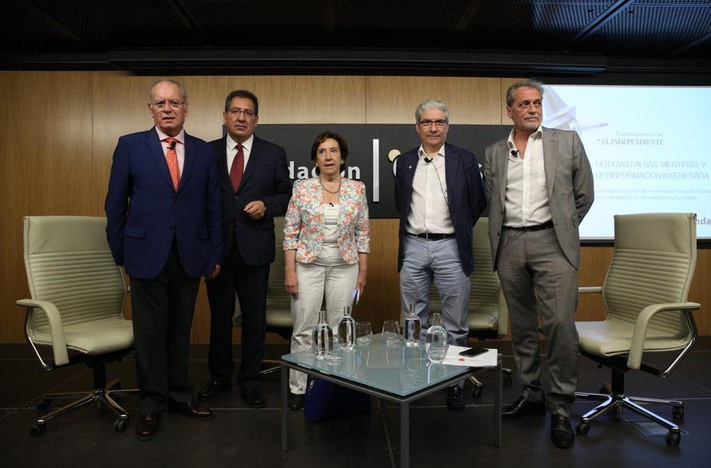 Mesa Redonda en Sevilla sobre las noticias falsas 'Mentiras, bulos y desinformación interesada'