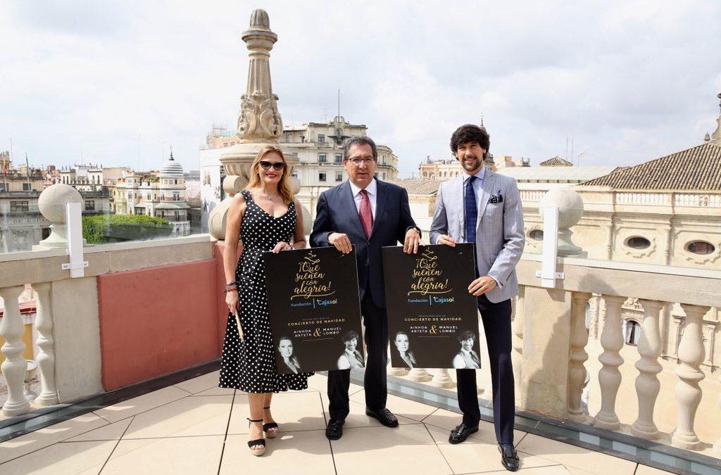 Ainhoa Arteta y Manuel Lombo protagonizarán los conciertos '¡Que suenen con alegría! Gira Diciembre 2018'