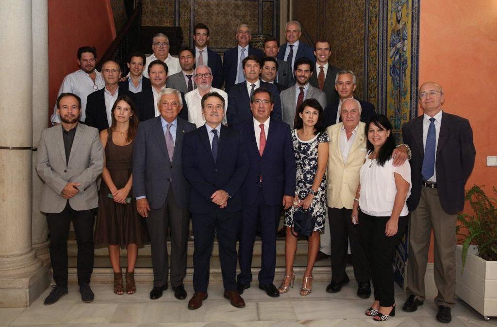 Recepción al embajador de Cuba en España, Gustavo Machín Gómez