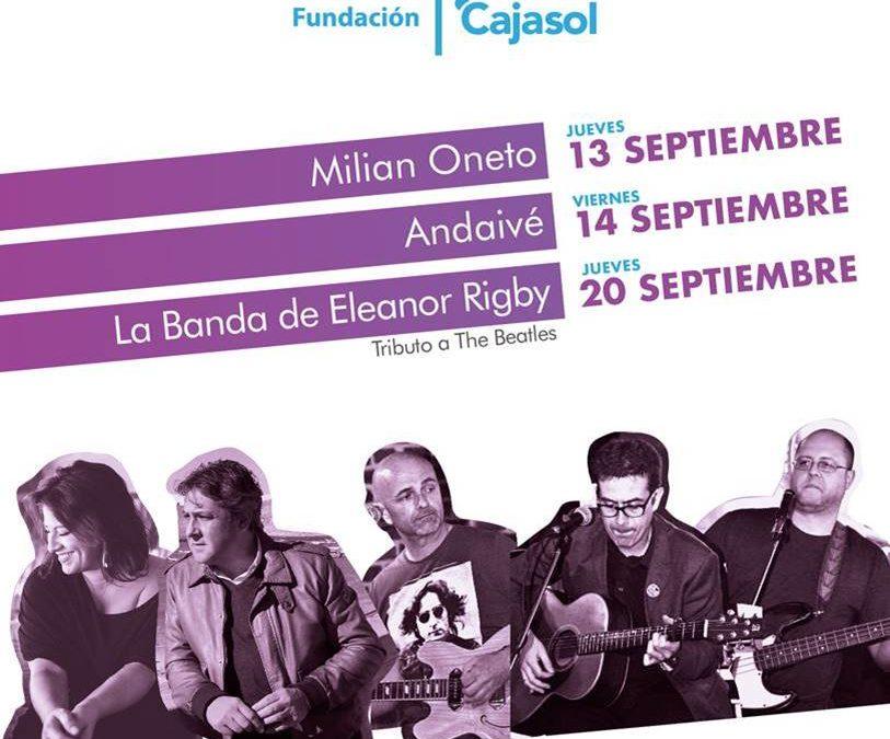 Música en directo para finalizar el verano desde la azotea de la Fundación Cajasol en Cádiz
