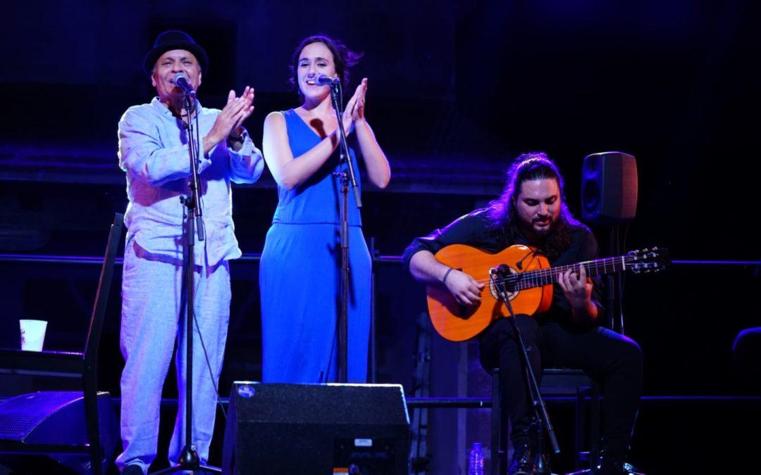 Actuación de 'El Pele' en el II Estival Flamenco Cádiz: esencia y personalidad sobre el escenario