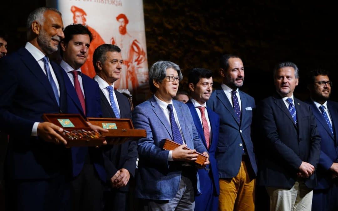 Entrega de los premios Magallanes y Elcano en Sanlúcar de Barrameda