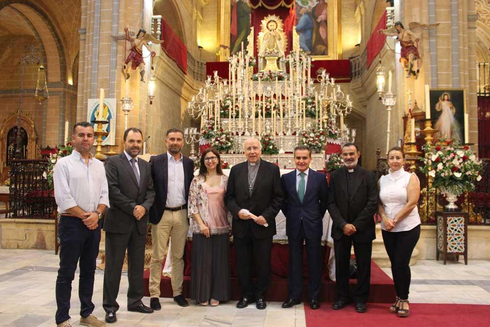 Fundación Cajasol y Obra Social 'la Caixa' contribuirán a la restauración y conservación de la Torre de la Parroquia Nuestra Señora de la Granada de Moguer
