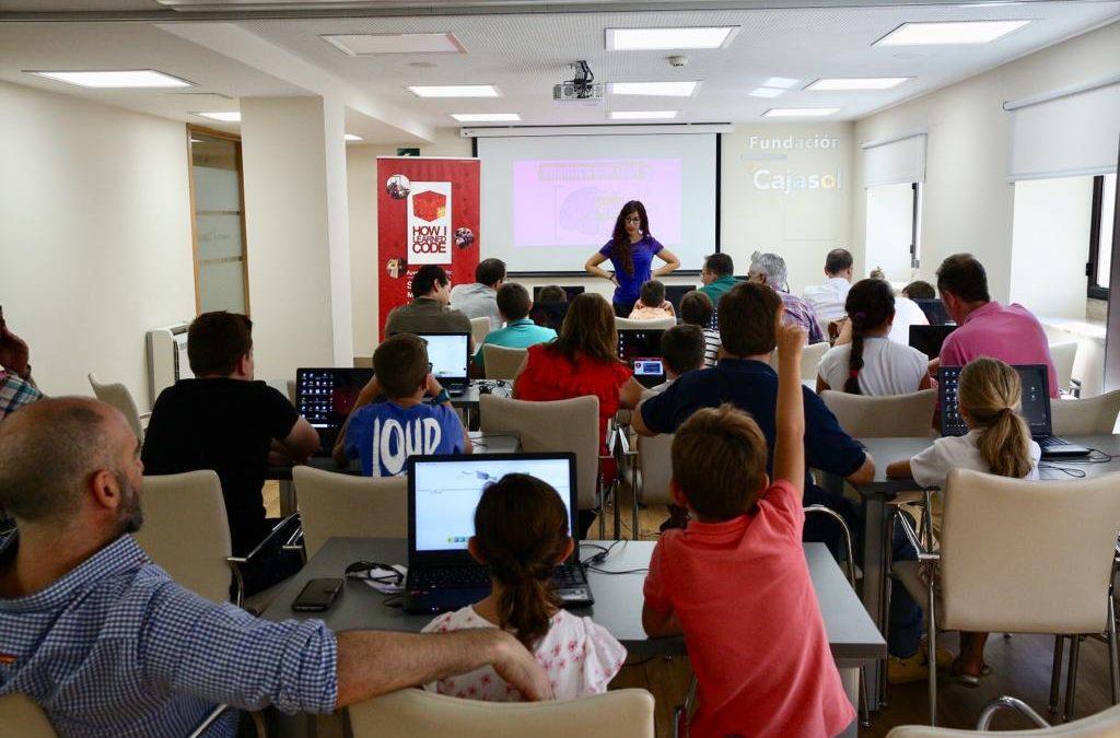 Última sesión de los Talleres Tecnológicos en Familia con 'Iniciación a la robótica educativa con Lego WeDo'
