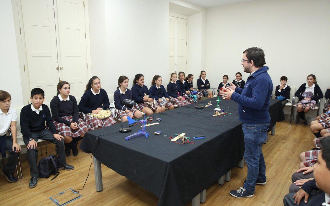 Ciencia y Tecnología en el programa educativo de la Fundación Cajasol en Sevilla
