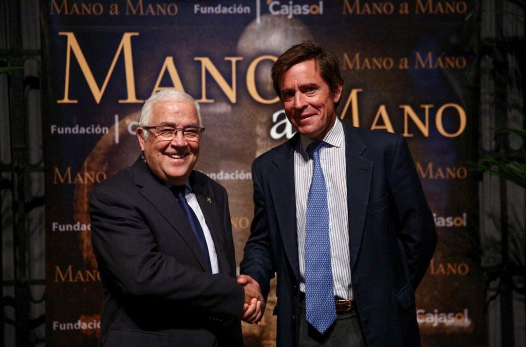Eduardo Dávila Miura y Abel Moreno, 'Mano a Mano' en la Fundación Cajasol
