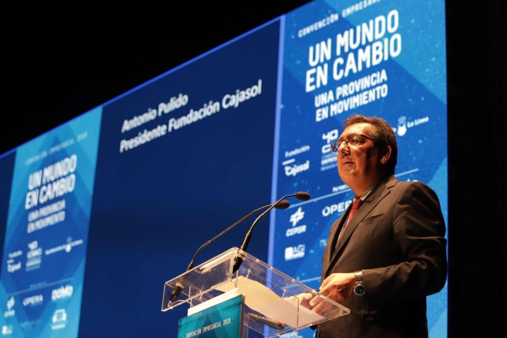 Intervención de Antonio Pulido en la Convención Empresarial 2018 de la CEC